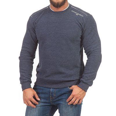 Джемпер мужской 1442 цвет джинс, р-р 54-56 (3XL)