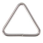 The basis for the key chain, coupling triangle, silver