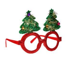 Карнавальные очки «Новогодняя ёлочка» в Донецке