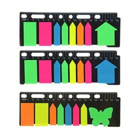 Набор блоков с липким краем, 8 блоков по 20 листов, флуоресцентные, МИКС