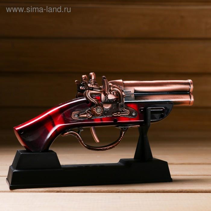 Изделие на подставке, пистолет, 4*10*18см