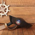 """Карнавальная шляпа """"Настоящий пират"""", детская, р-р 52-54"""