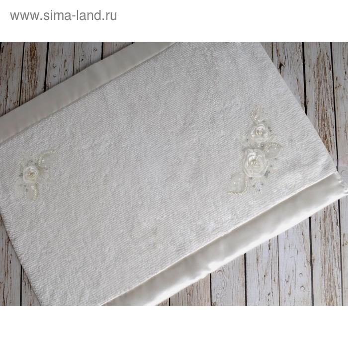 Коврик для ванной, Irya Rose, 60x90 см, цвет молочный 2572