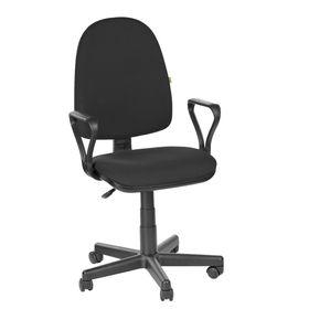 """Кресло оператора """"Престиж Самба"""", черный, ткань (В-14)"""