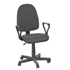 Кресло оператора 'Престиж Самба', серый, ткань (В-40) Ош