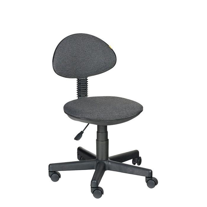 """Детское кресло """"Логика"""",  серый, без подлокотника  (В-40)"""