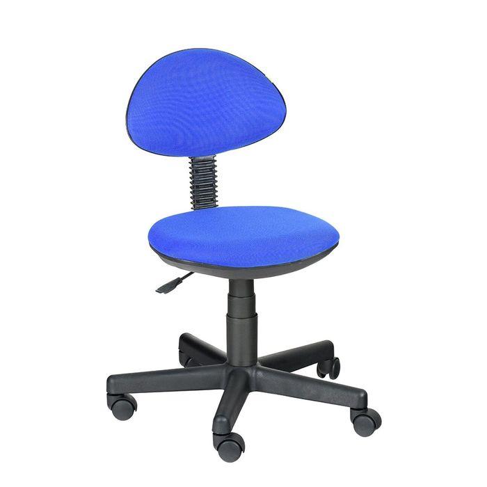 """Детское кресло """"Логика"""",  синий, без подлокотника  (В-10)"""
