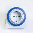 Таймер розеточный Smartbuy, механический, 3500 Вт, 96 вкл./выкл. сутки, шаг 15 мин.