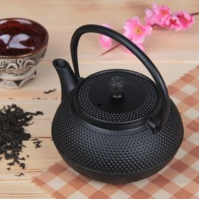 "Kettle with strainer ""Eastern night"", 600 ml, black"
