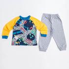 Пижама для мальчика, рост 80 см, цвет жёлтый CAB 5284_М