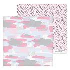 """Бумага для скрапбукинга """"Розовые оттенки"""", 30,5х30,5 см"""