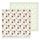 Бумага для скрапбукинга «Лесные зверята», 30.5 × 30.5 см, 180 г/м