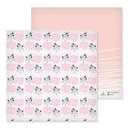 Бумага для скрапбукинга «Лисёнок и птичка», 30.5 × 30.5 см, 180 г/м