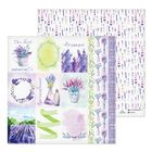 Бумага для скрапбукинга Lavender, 30.5 × 30.5 см, 180 г/м