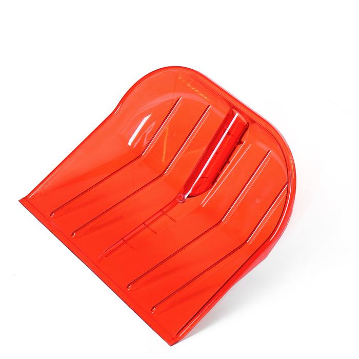 Ковш лопаты из поликарбоната, 430 × 420 мм, без планки, цвет МИКС