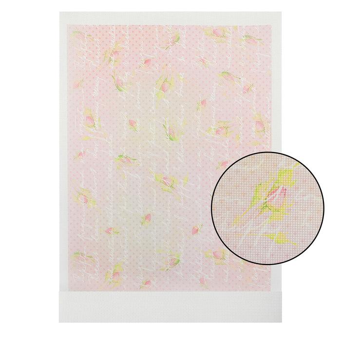 Канва для вышивания с рисунком, 40 × 30 см, КД-002