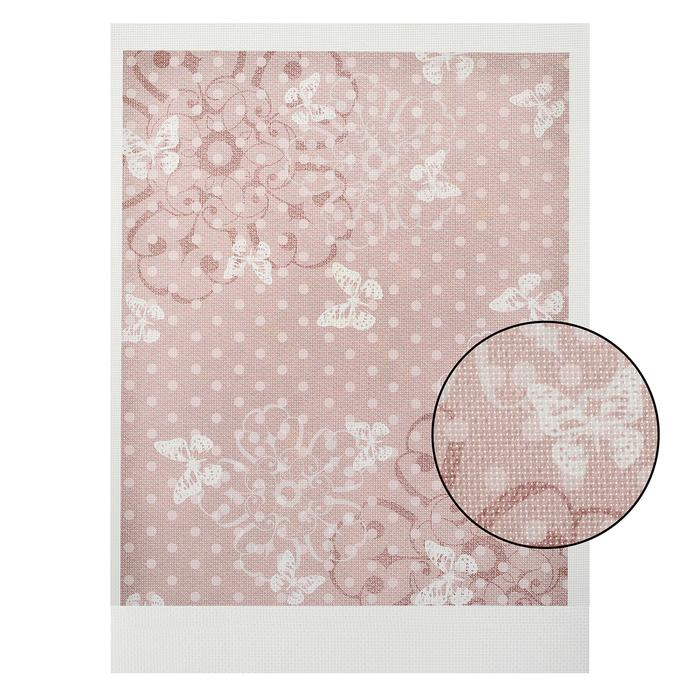 Канва для вышивания с рисунком, 40 × 30 см, КД-018