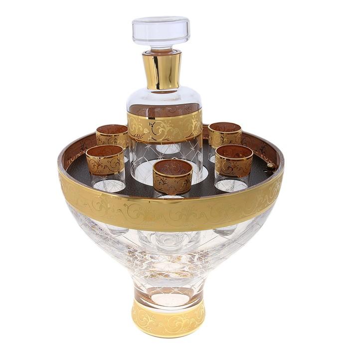 Набор для водки Royal Trophy (графин 1000 мл, 6 стопок)