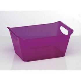 Ящик хозяйственный, 10 л, цвет МИКС