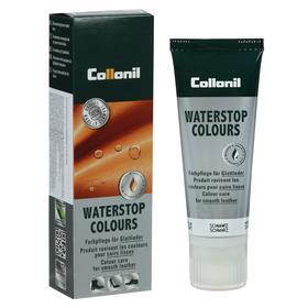 Крем водоотталкивающий Collonil Waterstop tube для гладкой кожи с губкой, цвет чёрный, 75 мл