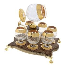 Набор Bonaparte: 6 бокалов для коньяка с подогревом (780 мл, 250 мл) Ош