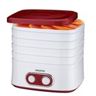 Сушилка для овощей и фруктов Marta MT-1945, 250 Вт, 5 поддонов,цвет красный гранат