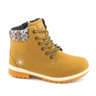 Ботинки зим. женские SAYOTA арт. 8667-10-38, цвет жёлтый, размер 38