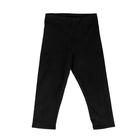Бриджи гимнастические х/б, размер 30, цвет чёрный