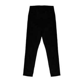 Лосины гимнастические х/б, размер 30, цвет чёрный