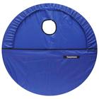 Чехол для обруча с карманом Акварель, цвет синий