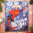 """Пакет подарочный полиэтиленовый""""С новым годом"""",Человек-Паук,23х29,5 см"""