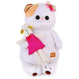Мягкая игрушка «Кошечка Ли-Ли», с овечкой, 24 см