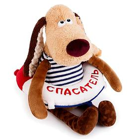 Мягкая игрушка «Собака-спасатель», 30 см