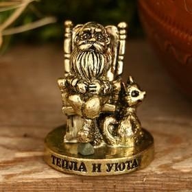 """Фигурка миниатюра домовой """"Тепла и уюта"""", 3,5 х 3 см"""