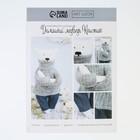 Набор для шитья «Домашний медведь Кристиан», 18 х 22 х 3,6 см
