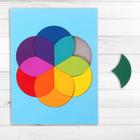 "Puzzle ""colorful circle"" 12 elements"