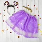 Carnival set kids Margo: headband, skirt, gun