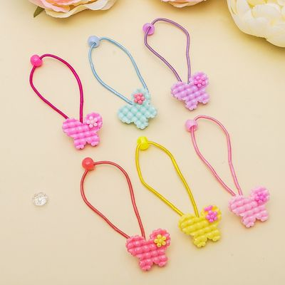 "Elastic band for hair ""Bubble"" butterfly"