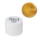 """Гель-краска для ногтей """"Жидкое золото"""", трёхфазный, LED/UV, 8мл, цвет золотой"""