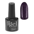 Гель-лак для ногтей, 5284-494, трёхфазный, LED/UV, 10мл, цвет 5284-494 тёмно-бордовый блёстки