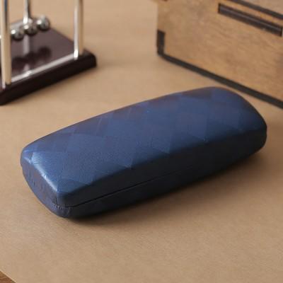 Футляр для очков Штрихи 15,5*3*6,5 отдел, синий