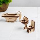 Конструктор «Ванная» набор мебели - фото 105510871