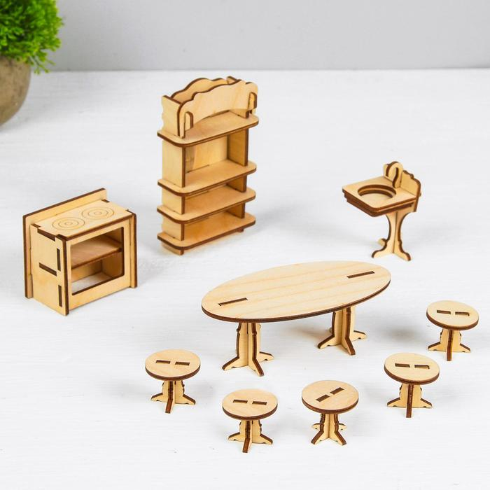 Конструктор «Кухня» набор мебели - фото 729718652