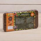 Субстрат кокосовый в блоке, 21 х 11 х 3 см, 4 л, индивидуальная упаковка