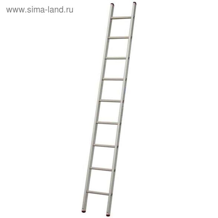 Лестница приставная KRAUSE SIBILO, односекционная, рабочая высота 3.9 м, 9 ступеней