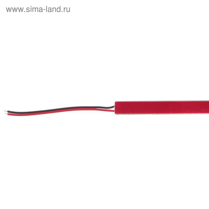 Светодиодная линейка 1 метр 26 Вт, 3600 Лм,SMD5630, 144 Led, 6500 K, 12 В, клеевая основа
