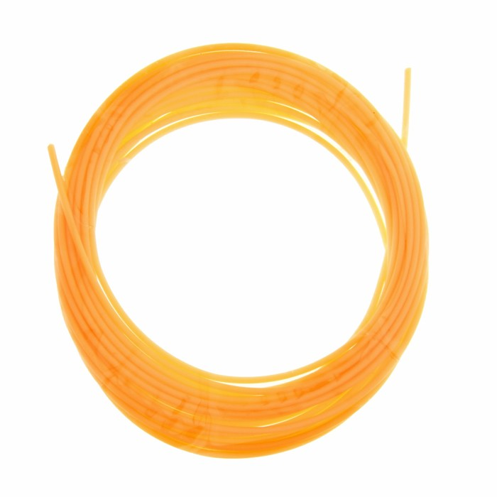 Пластик PCL для 3D ручки, длина 5 м, d=1,75 мм, цвет кислотно-оранжевый