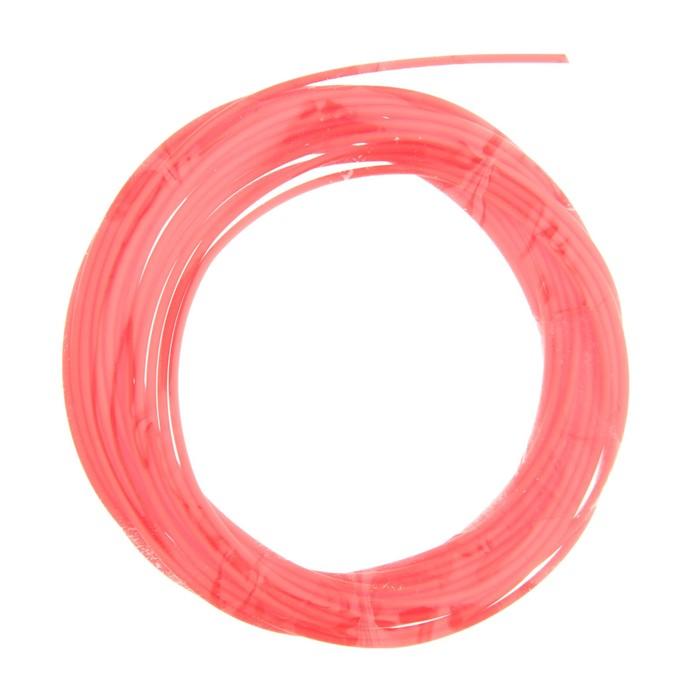 Пластик PCL для 3D ручки, длина 5 м, d=1,75 мм, цвет красный
