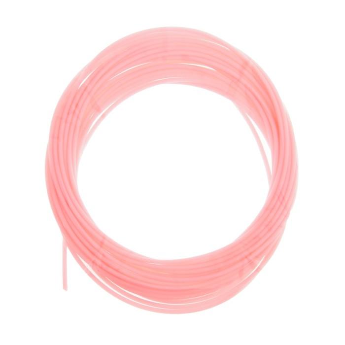 Пластик PCL для 3D ручки, длина 5 м, d=1,75 мм, цвет розовый