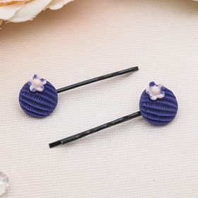 """Invisible hair """"Texture"""" (set of 20 PCs) 5 cm, round"""